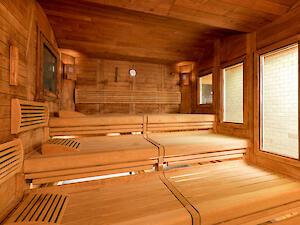 sauna in der m nster therme b der f r d sseldorf. Black Bedroom Furniture Sets. Home Design Ideas