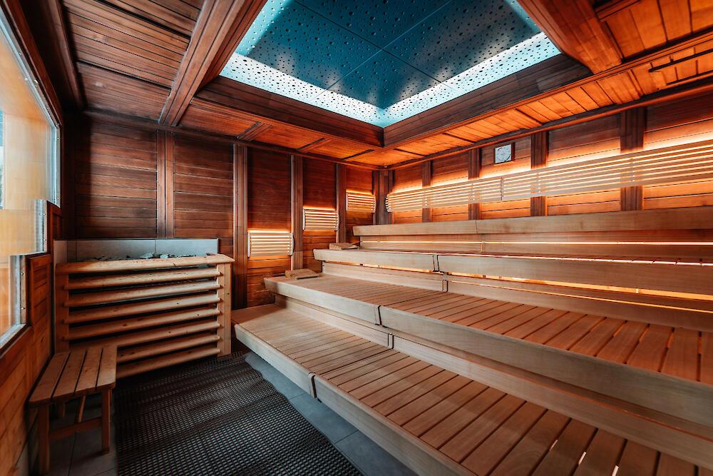 Suomi-Sauna im Familienbad Niederheid | Bäder für Düsseldorf
